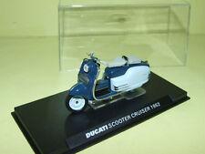 MOTO DUCATI SCOOTER CRUISER 1954 Bleu ALTAYA 1:24
