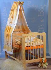 Lit Bébé Ensemble Complet à Barreaux Enfant Matelas Coutil Ciel 5 Couleurs Top