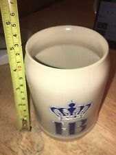 New listing Hb Beer Stein Cup Ceramic Mug Vintage Collectible .5L , Used Condition.