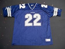 Vtg Logo Athletic Emmitt Smith Dallas Cowboys NFL Football Jersey Uniform XXL