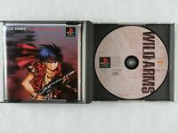 Wild Arms PS1 Sony Playstation From Japan