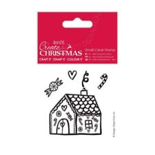 Create Christmas (Papermania) Craft Small Clear Stamps - Gingerbread House