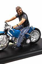 Ace biker motocycliste figure american diorama 23865 1:18 vélo neuf non incl