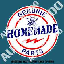 GENUINE HOMEMADE PARTS Decal Sticker Illest JDM HOT ROD RALLY DECALS STICKERS