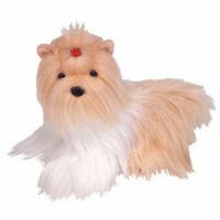 TY Beanie Baby - TIBBY the Shih Tzu Dog (5 inch) - MWMTs Stuffed Animal Toy