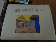 Taz-Mania Animated Series Original Animation Hand Painted Background Model Cel O