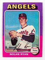 Nolan Ryan #500 (1975 Topps) Los Angeles Angels Baseball Card