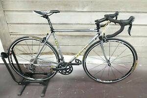 Masi Gran Criterium 52cm Lugged Steel Road Bike 700c 2x10 Shimano 105 Ritchey