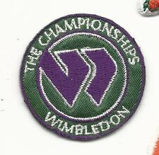 "New Wimbledon The Championships Round 1 1/2"" Iron on Tennis Patch"