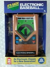 BASEBALL Handheld Electronic Game 70's Retro Mattel Classic Sounds Lights NEW