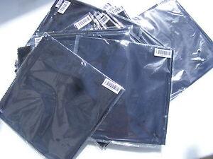 NEW JOB LOT x100 DELL RN857 XPS ANTI STATIC HIGH QUALITY SCREEN LCD WIPE CLOTHS