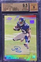 Odell Beckham Jr. 2014 Topps Prime Autograph Rookie Silver Rainbow /25 BGS 9.5