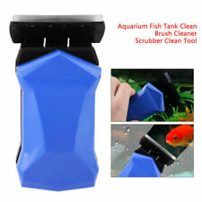 New! Magnetic Aquarium Glass Cleaner Fish Tank Aqua Algae Clean Magnet Brush