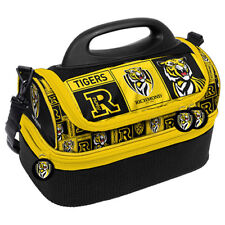Richmond Tigers AFL Insulated DOME Lunch Box Drink Cooler BAG School Gift