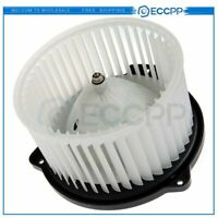 Front For Toyota Tundra 00-06 A/C Heater Blower Motor with Fan Cage ABS Plastic