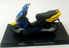 MAISTO PEUGEOT SPEEDFIGHT 1:18 SCALE DIE CAST MODEL MOTORBIKE