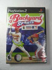 Backyard Sports Baseball 2007 Playstation 2 PS2 BRAND NEW FACTORY SEALED