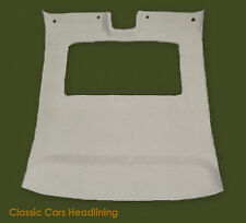 Headliner for Jaguar XJ40 in Grey or Oatmeal, with or without Sunroof
