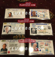 Back To The Future Drivers License Props - All 6 included - Marty McFly + more