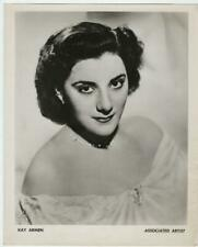 "Vintage original 1950's Kay Armen Associated Artist  8"" x 10"" Promo Photo"