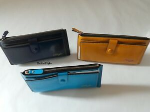 Women Ladies Real Soft Leather Clutch Wallet Long Coin Card Holder Purse Handbag