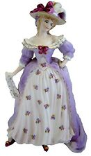 "Coalport Lady Figurine from the Series - Femmes Fatales - "" Mrs. Fitzherbert "" !"