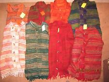 UNISEX INDIAN BLANKET JUMPER / JACKET CASHMELON Fleece Hippy 'YAK WOOL' CHOICE