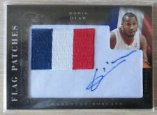 2010-11 Elite Black Box Flag Patches Signatures #14 Boris Diaw/99 NBA Basket
