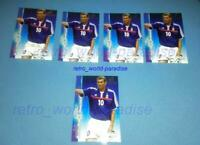 ZIDANE RARE CARTE NEUF NEW MINT 2001 CARD FUTERA  platinum  WORLD STARS panini