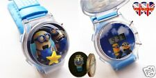 Despicable Me Minions Children's Liquid Filled Watch With Flashing Lights