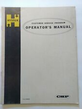 Hyster 1970's Operators & Maintenance Manual OEM Form 599468 Fork Lift Truck
