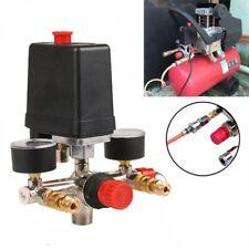 New listing Air Compressor V-alve Gauges Pressure Control Switch Regulator Pump 90-120 Psi
