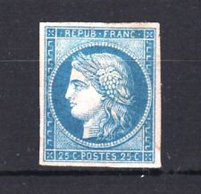 "FRANCE STAMP TIMBRE 4 f "" CERES 25c TIRAGE DE 1862 "" NEUF x TB SIGNE R519"