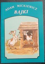 BAJKI - Adam Mickiewicz | Paperback | Polish book