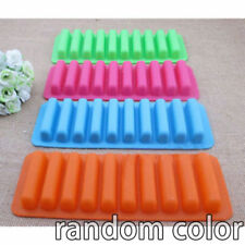 10 cell Chocolate Barette / Finger Stick Water Bottle Ice Cube Silicone Mould