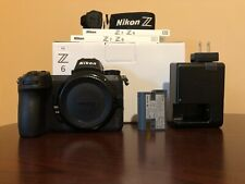 Used Nikon Z 6 24.5MP Mirrorless Digital Camera Black (Body) #907