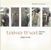 Take That featuring Lulu - Relight My Fire 2 CD single set