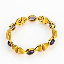 Bracelet (18k gold) with iolite