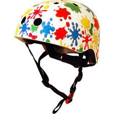Kiddimoto Helmet Childs Kids Bike BMX Cycle Stunt Scooter Skate Splatz Small