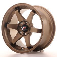 Japan Racing JR3 Alloy Wheel 15x8 - 4x100 / 4x114.3 - ET25 - Anodised Bronze
