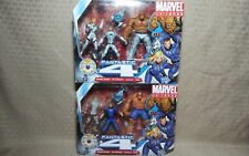 Hasbro Marvel Universe Fantastic 4 Lot Multi Pack Invisible Woman Thing HERBIE