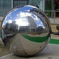 Spheres Silver Decor Gazing Balls Steel Mirror Garden Hollow 19-300mm Stainless