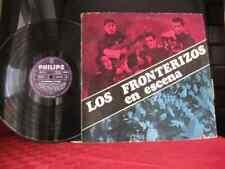 RARO! LP FOLK ARGENTINO,LOS FRONTERIZOS EN ESCENA,MONO,LP ARGENTINA 1966 PHILIPS