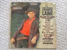 Frankie Laine's Hell Bent for Leather LP  CS 8415 (#2149)