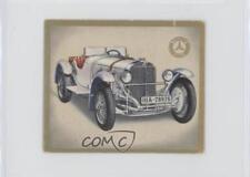 1934 Das Auto Von Heute Tobacco Base #255 SSKL-Rennwagen Mercedes-Benz Card 0a3