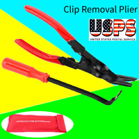 Seal Trim Removal Pry Bar Panel Door Interior Clip Removal W/ Pliers Tool Kit.