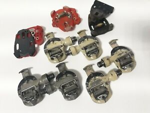 Lot of pedals time impact Ti mag + mag + cleats
