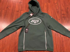 Nike Men's New York Jets On Field Player Therma Hoodie Sweatshirt Large L NFL