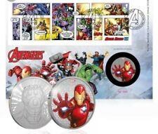 2019-Marvel-Avengers-LIMITED EDITION MEDAL Cover-Iron Man