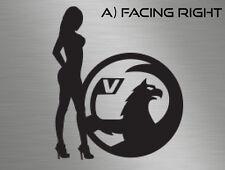 Sexy Nude Naked Girl Lady Vauxhall Badge Car Van Vinyl Decals Stickers Window